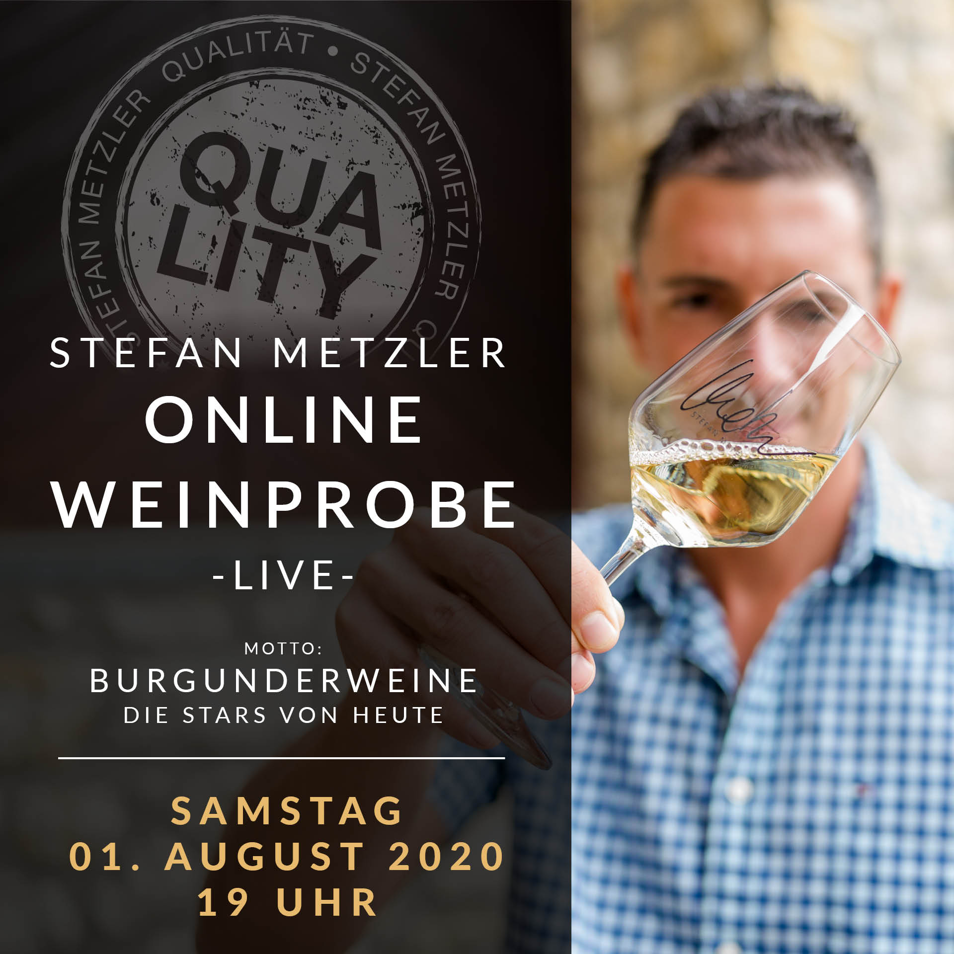 Onlineweinprobe - Burgunderweine