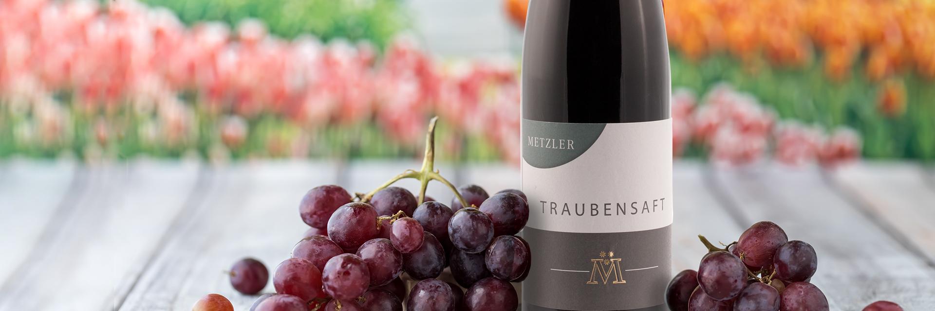 Alkoholfreie Getränke vom Weingut Metzler