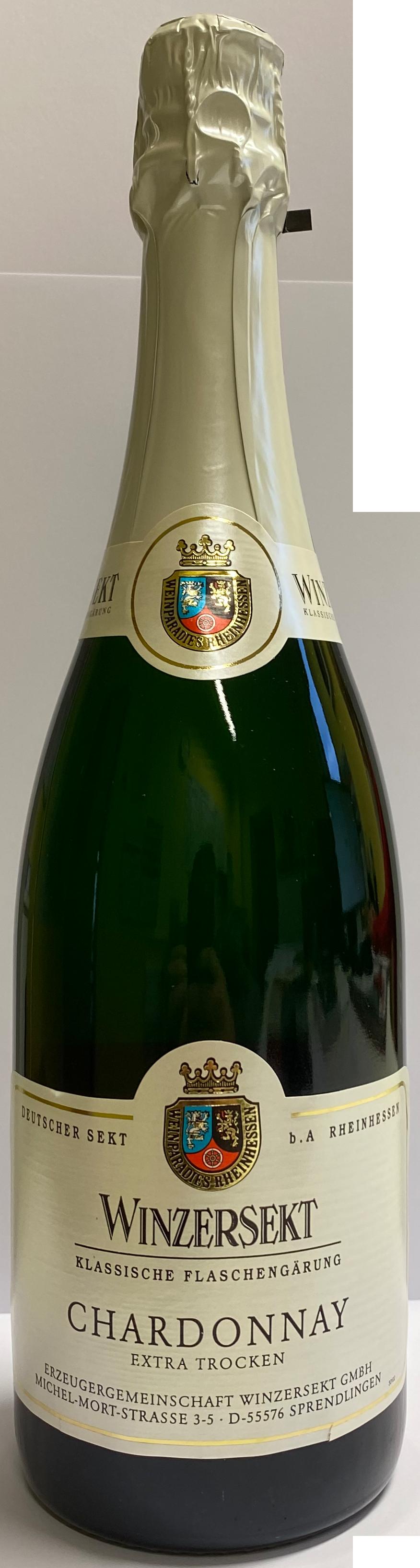 Chardonnay extra trocken Sekt