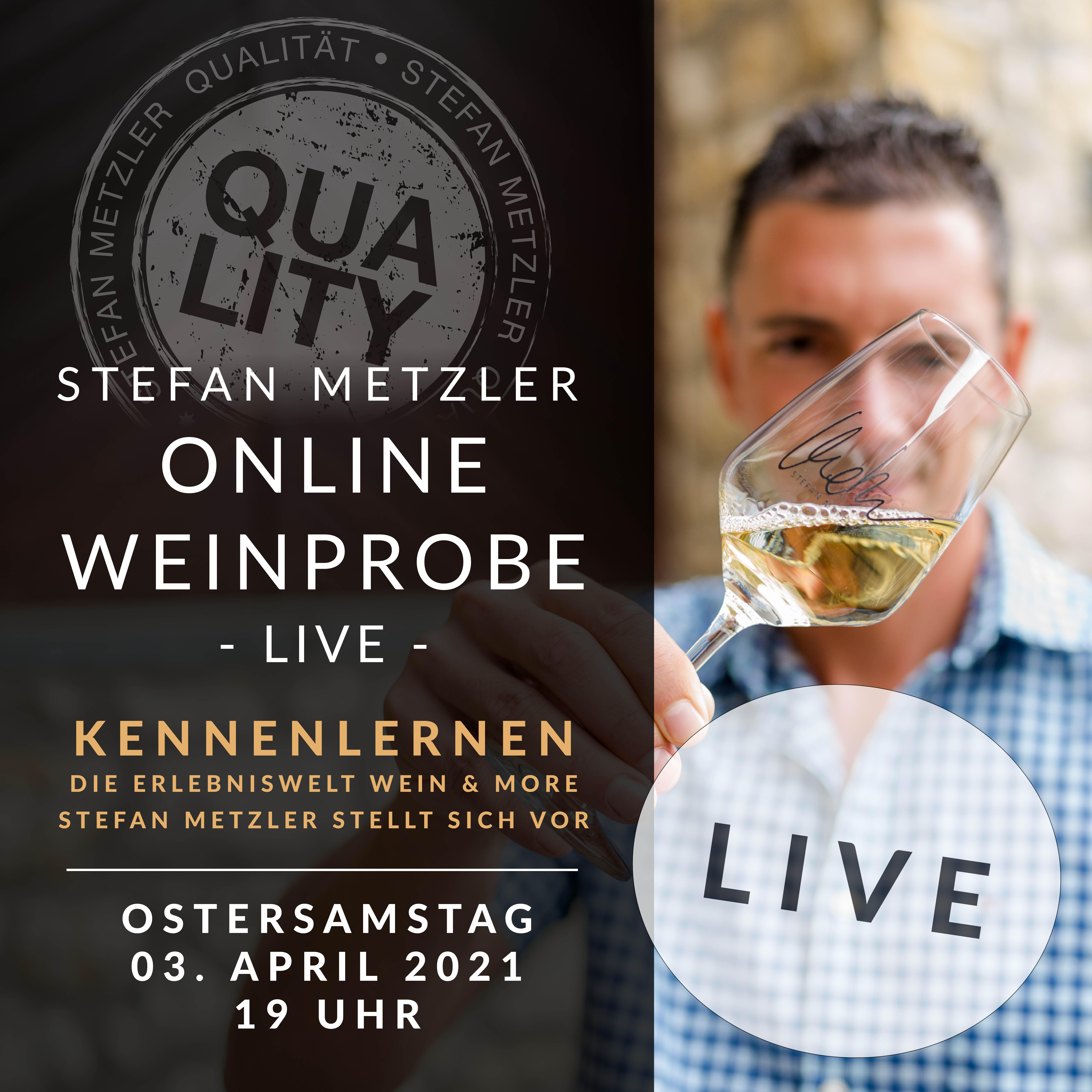 Onlineprobe 03.04.2021: Kennenlernen - Stefan Metzler stellt sich vor!