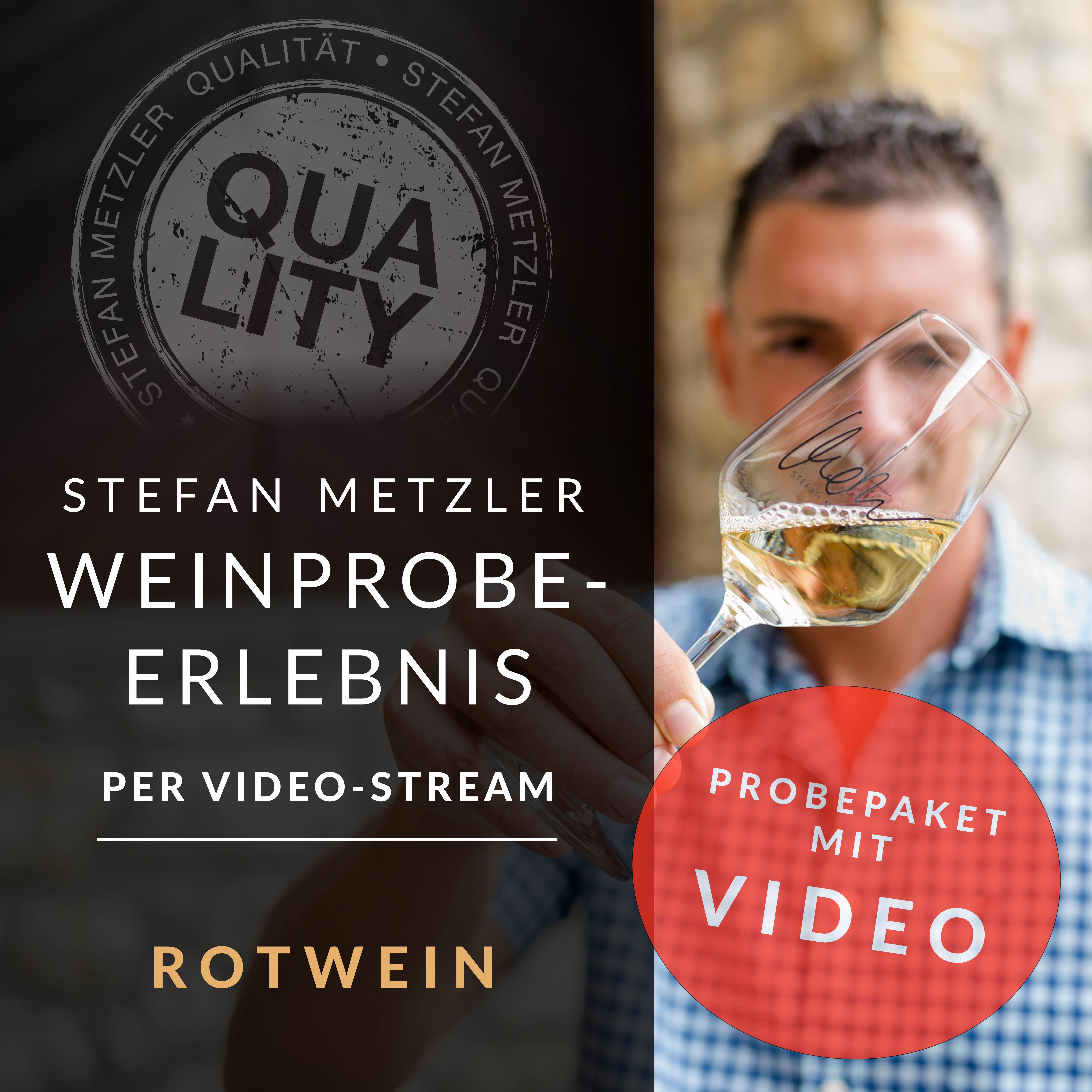 100% Metzler - Dein Weinprobe-Erlebnis per Video! Das Motto: Rotwein