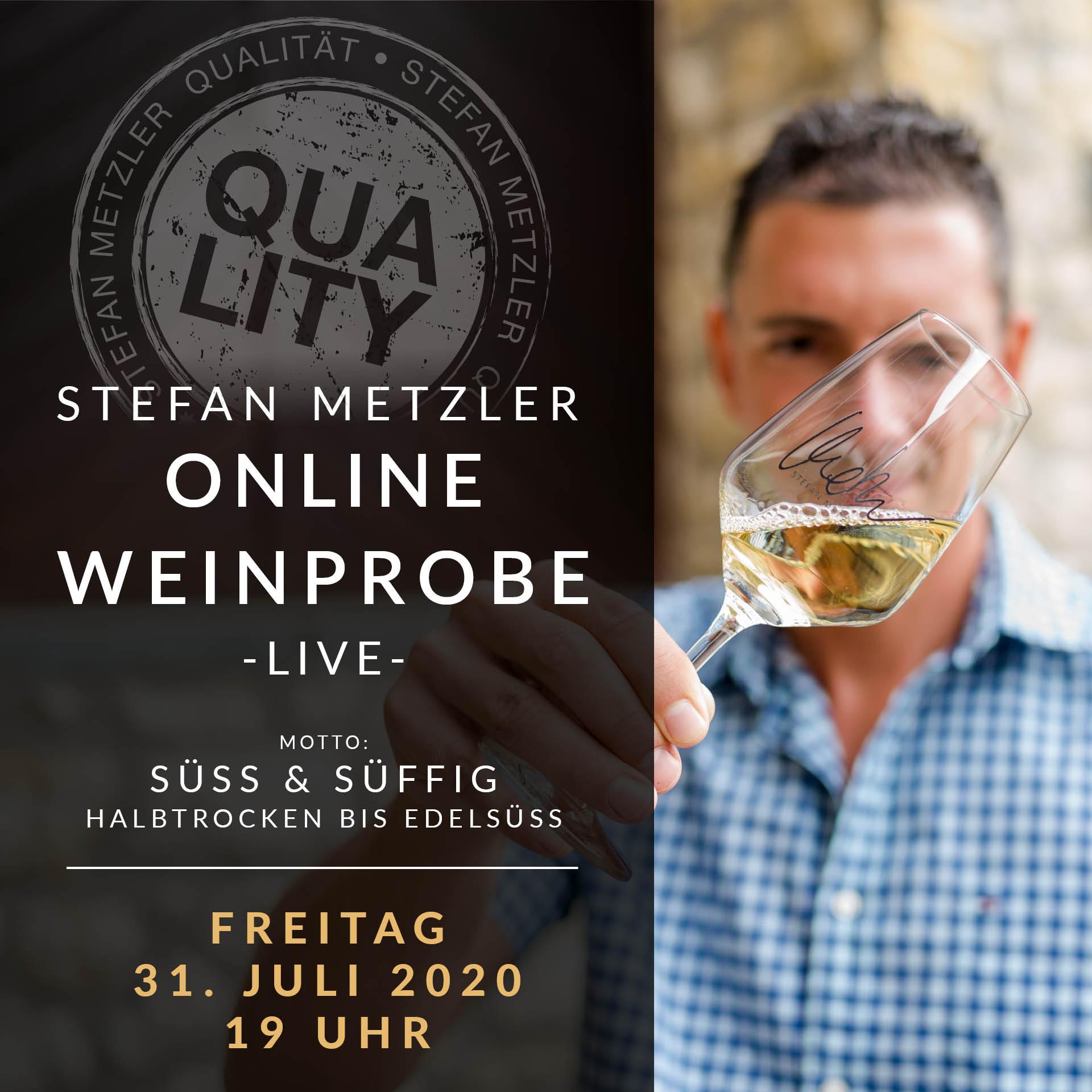 Onlineweinprobe - Fruchtig & Süffig