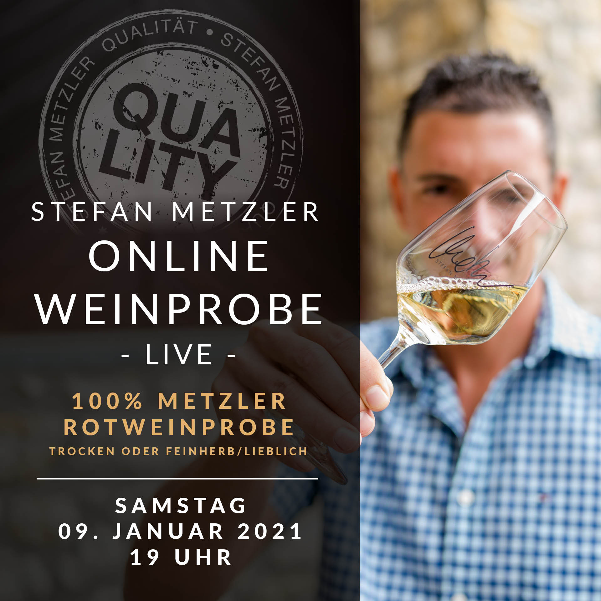 Onlineprobe 09.01.2021: Rotwein