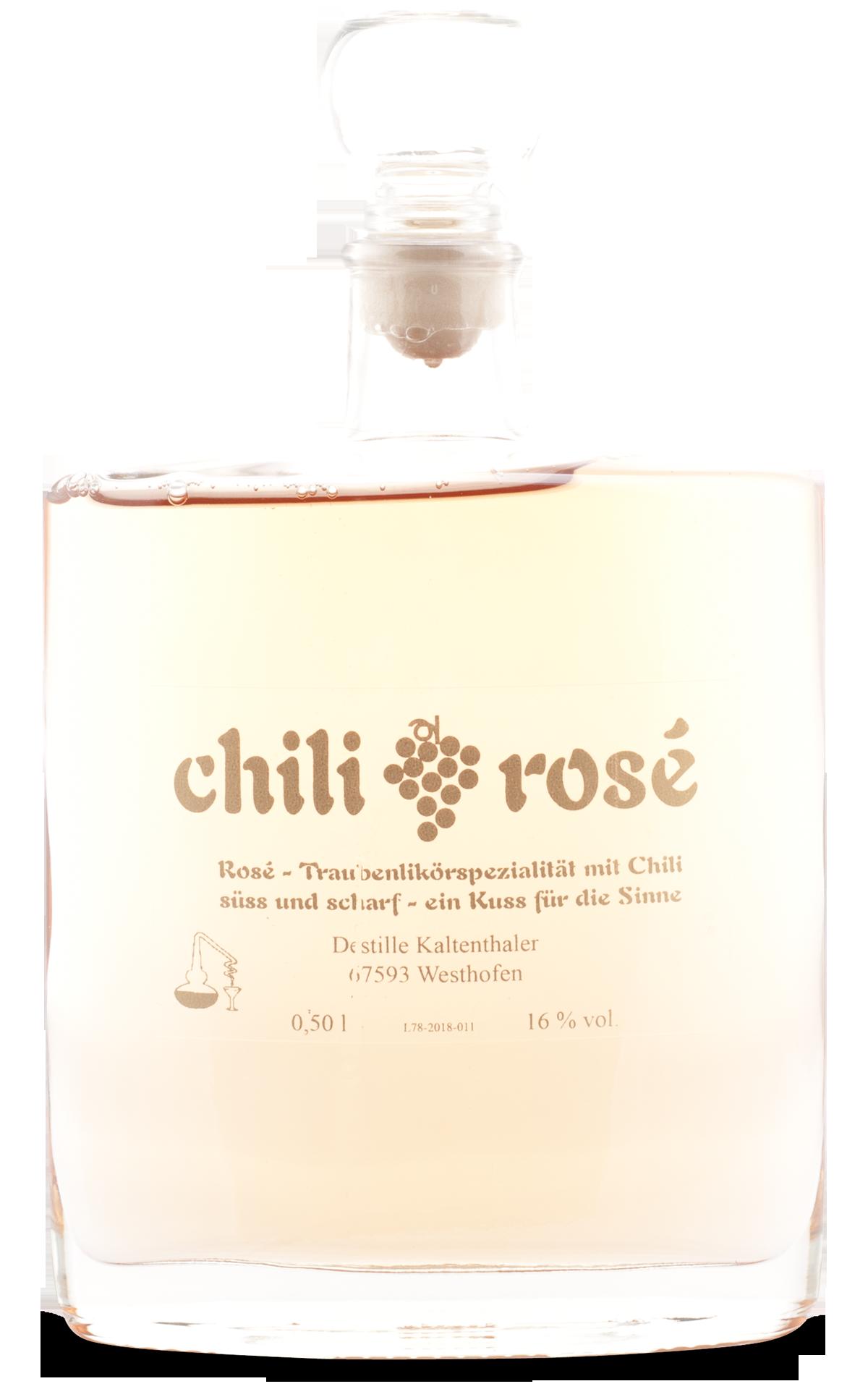 Chili-Rosè-Likör